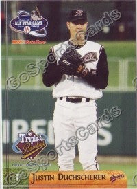 2003 Pacific Coast League All-Star Multi-Ad Justin Duchscherer
