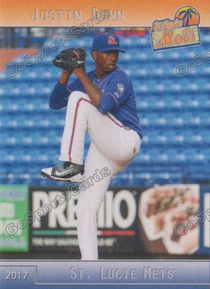 2017 St Lucie Mets Justin Dunn