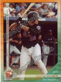 2003 Florida State League Top Prospects Justin Huber