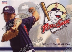 2008 Pawtucket Red Sox Justin Masterson
