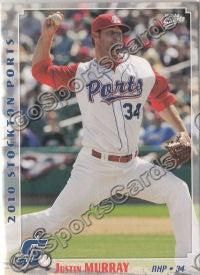 2010 Stockton Ports Justin Murray