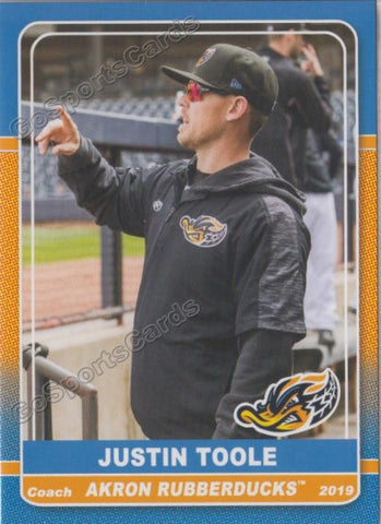 2019 Akron Rubber Ducks Justin Toole
