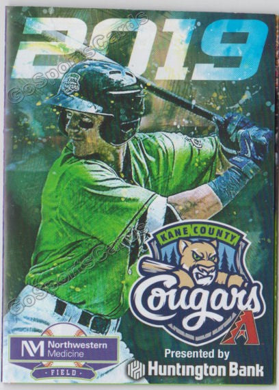 2019 Kane County Cougars Pocket Schedule