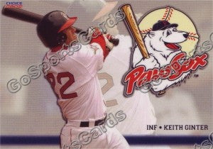 2008 Pawtucket Red Sox Keith Ginter