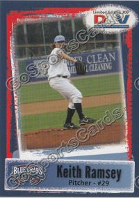 2011 Southern Maryland Blue Crabs DAV Keith Ramsey