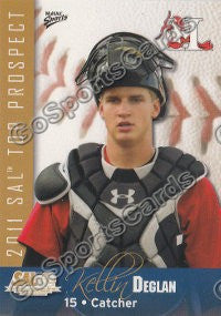 2011 South Atlantic League Top Prospects Kellin Deglan