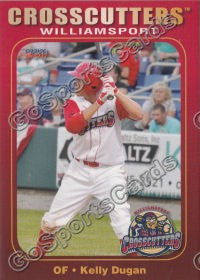 2011 Williamsport Crosscutters Kelly Dugan
