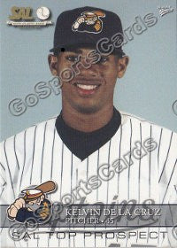 2008 South Atlantic League Top Prospects Kelvin De La Cruz