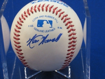 Ken Howell signed Baseball Auto