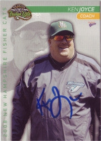 Ken Joyce 2008 New Hampshire Fisher Cats (Autograph)