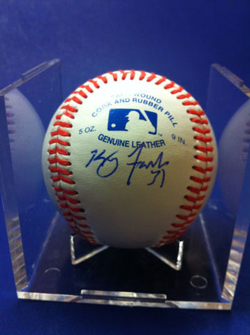Kenny Faulk Signed Baseball Auto