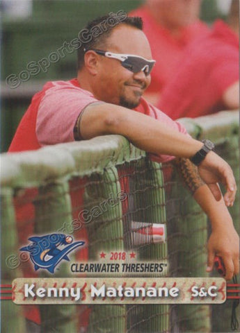 2018 Clearwater Threshers Kenny Matanane