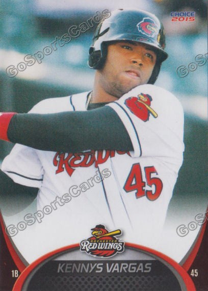 2015 Rochester Red Wings Kennys Vargas