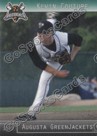 2012 Augusta GreenJackets Kevin Couture
