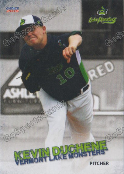 2015 Vermont Lake Monsters Kevin Duchene
