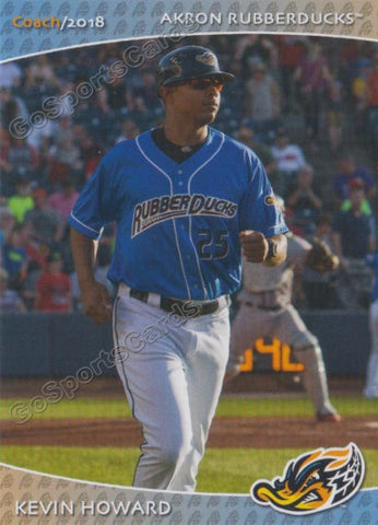2018 Akron Rubber Ducks Kevin Howard