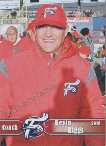 2018 Reading Fightin Phils Kevin Riggs