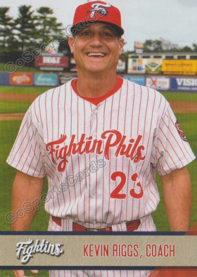 2018 Reading Fightin Phils Update Kevin Riggs