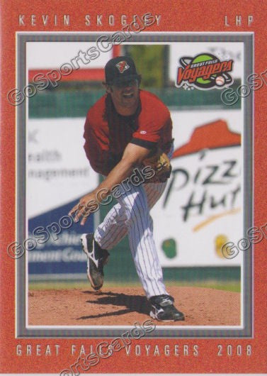 2008 Great Falls Voyagers Kevin Skogley