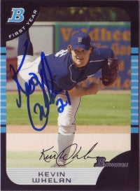 Kevin Whelan 2006 Bowman Draft Picks #106 (Autograph)