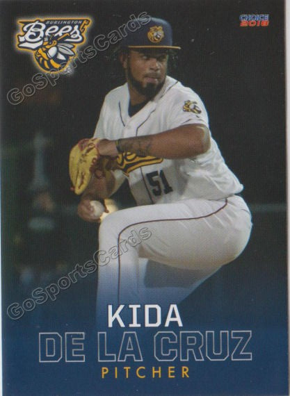 2018 Burlington Bees Kida De La Cruz