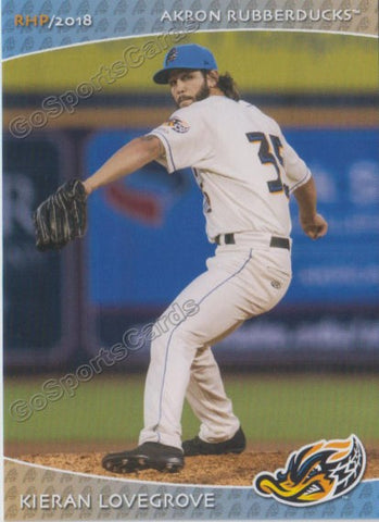 2018 Akron Rubber Ducks Kieran Lovegrove