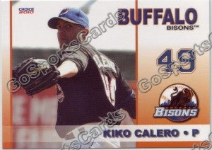 2010 Buffalo Bisons Kiko Calero