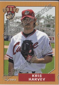 2012 Altoona Curve Kris Harvey
