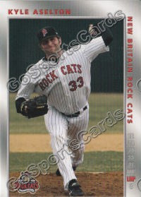 2008 New Britain Rock Cats Kyle Aselton