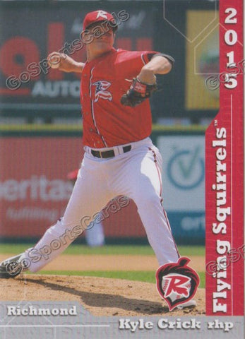 2015 Richmond Flying Squirrels Team Set