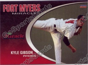 2010 Fort Myers Miracle Team Set (Kyle Gibson)
