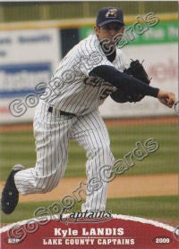 2009 Lake County Captains Kyle Landis