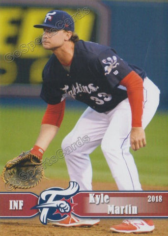 2018 Reading Fightin Phils Kyle Martin