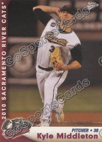 2010 Sacramento River Cats Kyle Middleton