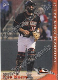2011 Delmarva Shorebirds Kyle Moore