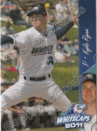 2011 West Michigan Whitecaps Kyle Ryan