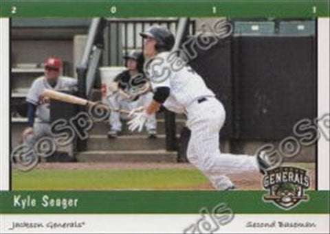 2011 Jackson Generals Team Set