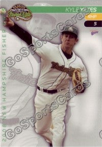 2008 New Hampshire Fisher Cats Kyle Yates