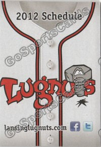2012 Lansing Lugnuts Pocket Schedule