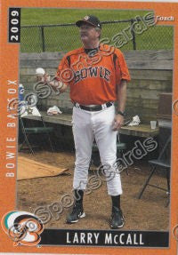 2009 Bowie Baysox Larry McCall