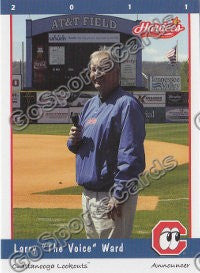 2011 Chattanooga Lookouts Larry Ward
