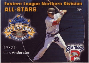 Lars Anderson 2009 Eastern League All Star (Black Autograph)