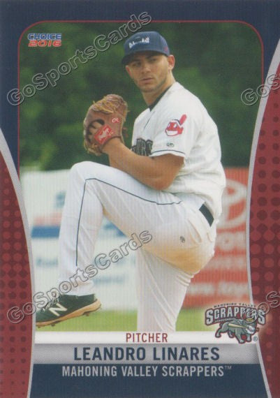 2016 Mahoning Valley Scrappers Leandro Linares