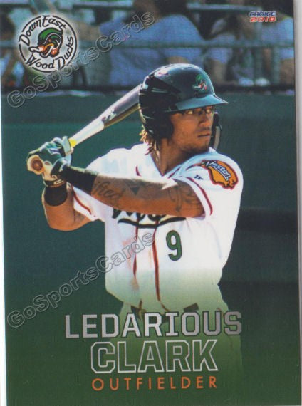 2018 Down East Wood Ducks Ledarious Clark