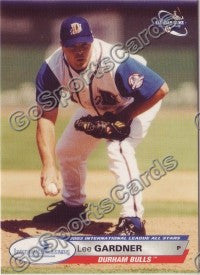 2003 International League All-Stars Choice Lee Gardner