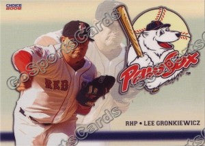 2008 Pawtucket Red Sox Lee Gronkiewicz