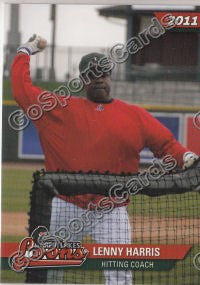 2011 Great Lakes Loons Lenny Harris