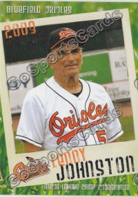 2009 Bluefield Orioles Lenny Johnston