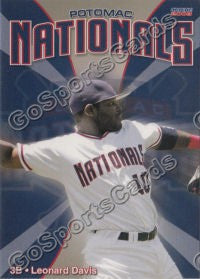 2008 Potomac Nationals Leonard Davis