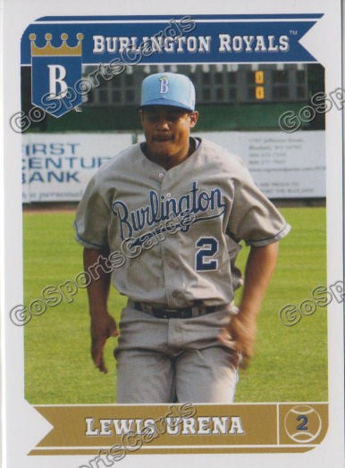 2013 Burlington Royals Lewis Urena